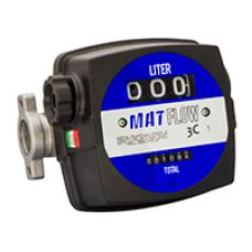 Счетчик механический MAT FLOW 3C для дизтоплива.